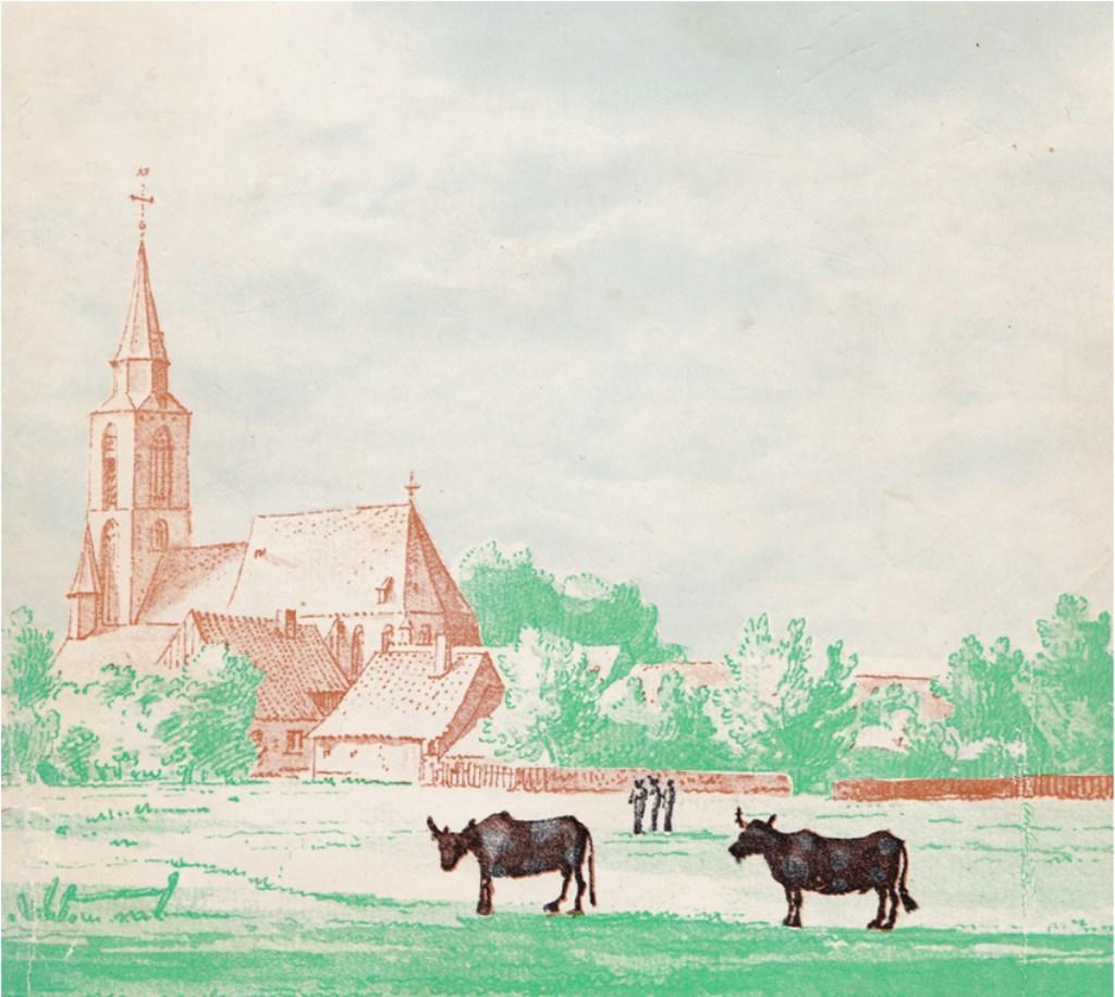 Winterswijk in vroegere dagen. Afbeelding PR Wereld van Wenters