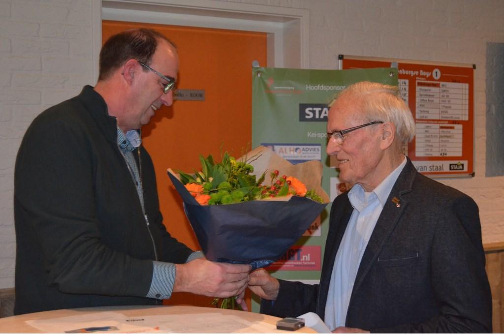 Voorzitter Marcel Melgers en Johan van Aken.Foto: Femke Jansen  © Achterhoek Nieuws b.v.