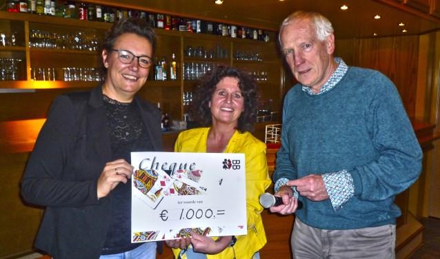 Bianca Haverkamp (l), Annette Kok en Hans Oldhoven. Foto: PR