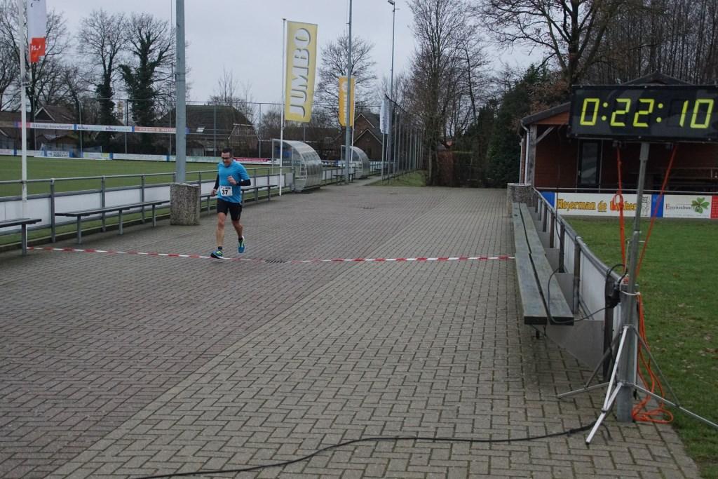 Ralph Nederlof was de winnaar op de zes km. Foto: Frank Vinkenvleugel  © Achterhoek Nieuws b.v.