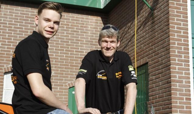 Victor Steeman en Hans Smees. Foto: Henk Teerink