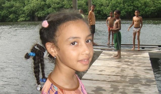 Dove kinderen worden geholpen door Stichting Kinderhulp Dominicaanse Republiek. Foto: PR