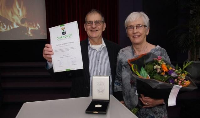 Jan en Hermien Veldhuis. Foto: Frank Vinkenvleugel