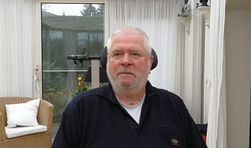 Herman Koopman, secretaris zonder pen. Foto: Rob Weeber