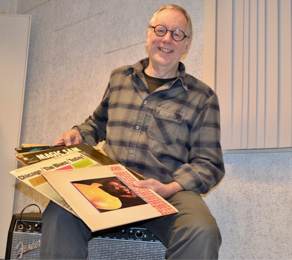 Sjoerd Kemeling verzorgt een cursus bluesmuziek. Foto Leander Grooten