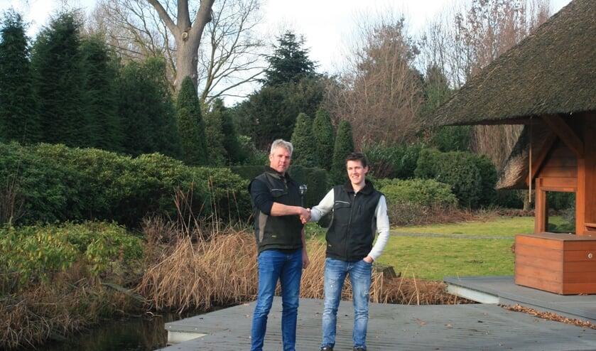Huub Wieggers  en Steffen Olijslager