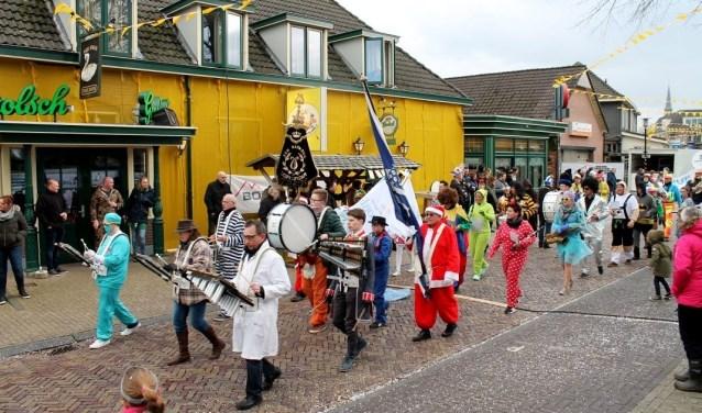De carnavalsoptocht van de Peardeknuppels in Knollendarp. Foto: PR