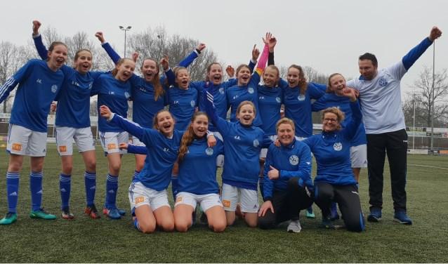 De kampioenen van SV Grol MO15-1. Foto: PR SV Grol
