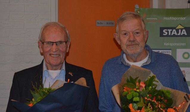 Gerard Geurts en Johan van Aken. Foto: Femke Jansen
