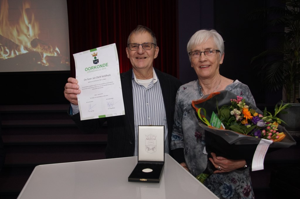 Jan en Hermien Veldhuis. Foto: Frank Vinkenvleugel  © Achterhoek Nieuws b.v.