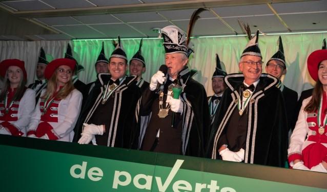 Prins Tonny de tweede gepresenteerd bij CV De Paverts. Foto: M. ten Brink