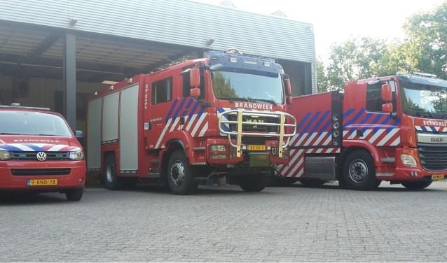 Het wagenpark van de Vordense brandweer. Foto: PR