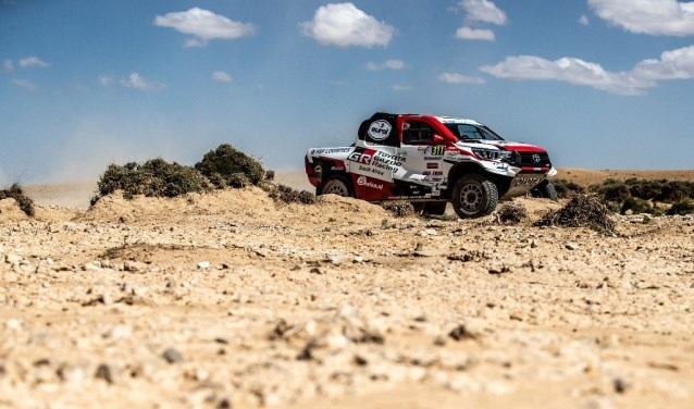 De Toyota Hilux van Bernhard ten Brinke. Foto: PR