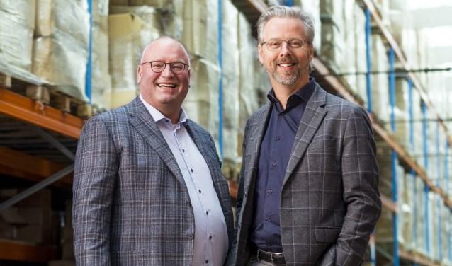 Henny Kok (links) en zijn opvolger Frank Maarsingh. Foto: Jurgen Pillen