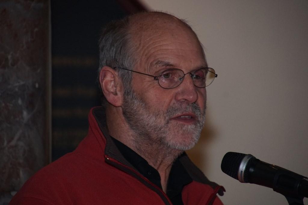 Harry Esselink als verhalenverteller. Foto: Frank Vinkenvleugel  © Achterhoek Nieuws b.v.
