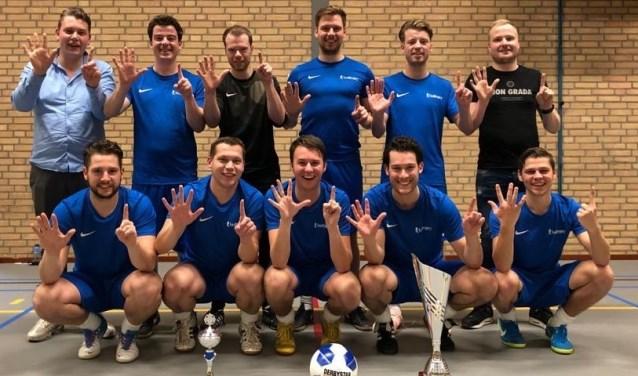 Het winnende team van Lubron. Foto: PR.
