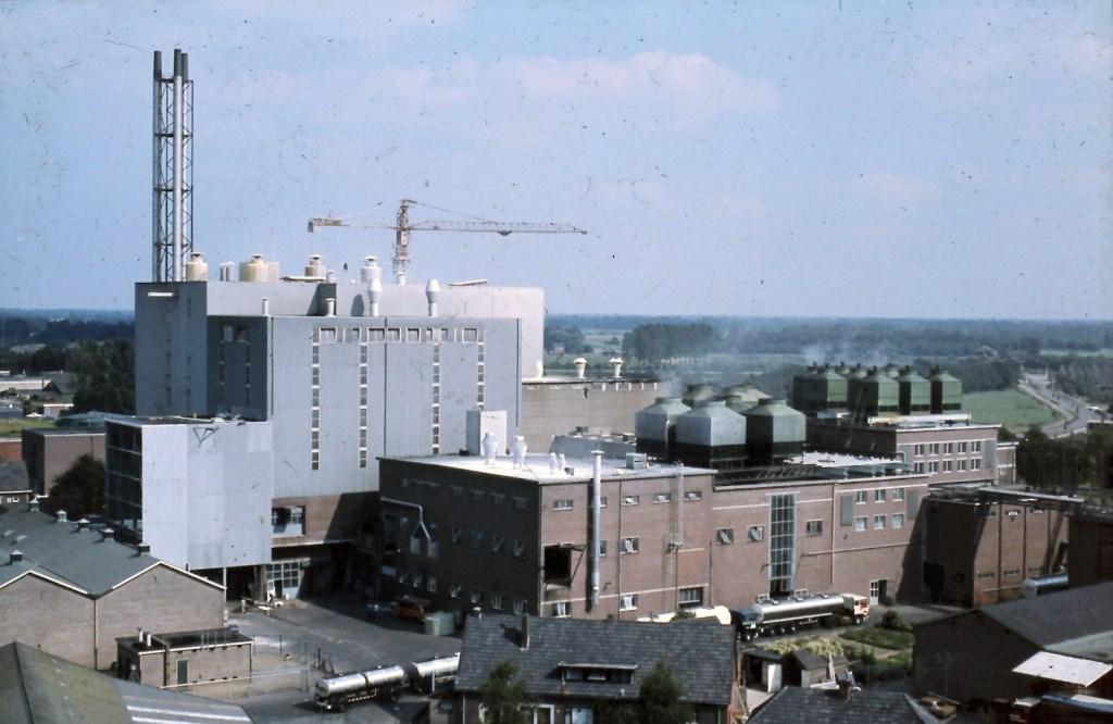 Bouwactiviteiten in het verleden bij Coöperatieve Weiproduktenfabriek. Foto: PR  © Achterhoek Nieuws b.v.