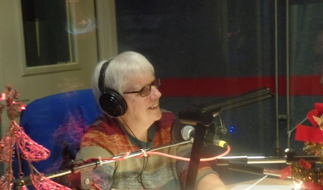 Annelies Hummelink verzorgde 26 jaar lang drie maal per week een informatieprogramma. Foto: Jan Hendriksen