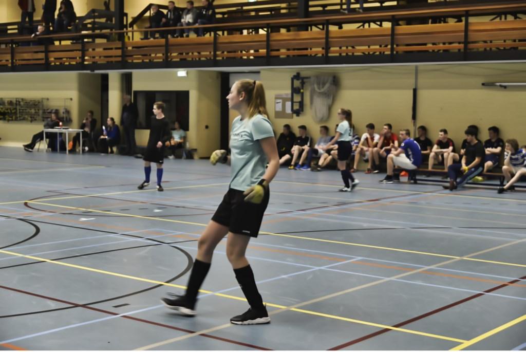 Zelos voetbalde het nieuwe jaar in. Foto: clubfotograaf zsv Zelos  © Achterhoek Nieuws b.v.