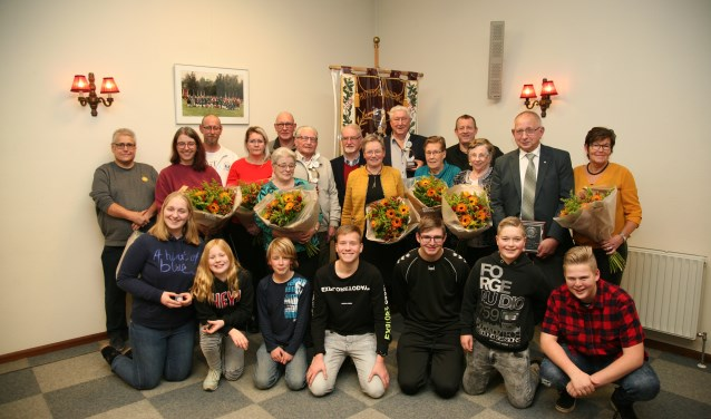 De jubilarissen van Willem Tell. Foto: PR