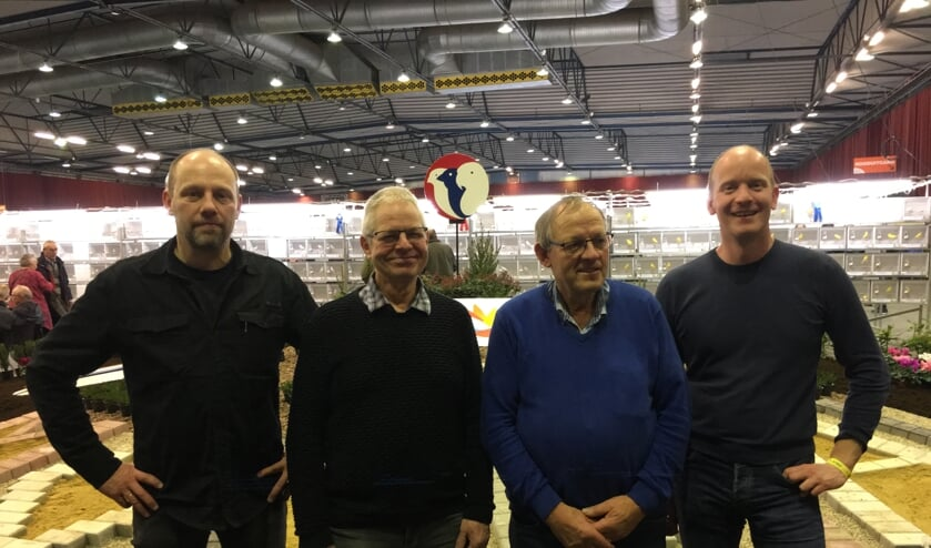 Vlnr: Walter Hoenderboom, Cor Bennink, Frans Harbers en Bas Reukers. Martijn Staverman ontbreekt op de foto. Foto: PR