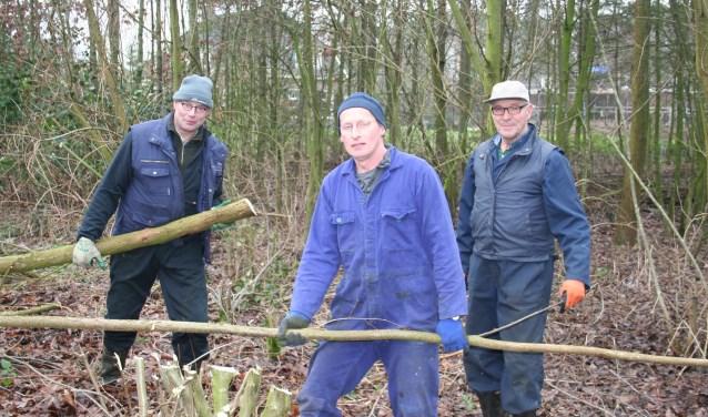 Van links naar rechts: Arnold Lageschaar,  Jos Klein Gebbinck en Henk Berenschot. Foto: Verona Westera