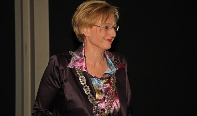 Burgemeester Marianne Besselink. Foto: Liesbeth Spaansen
