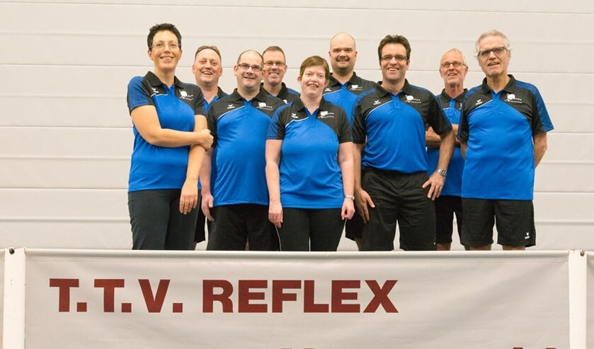 Nieuw tenue gepresenteerd voor teams T.T.V. Reflex. Foto: George Wieggers