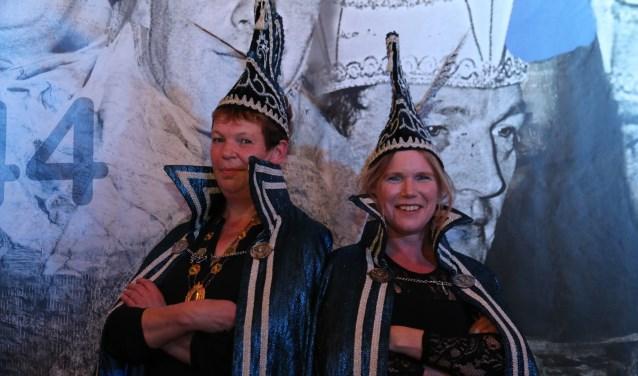 Prinses Erna Weijenborg en adjudant Marianne Lageschaar. Foto: PR