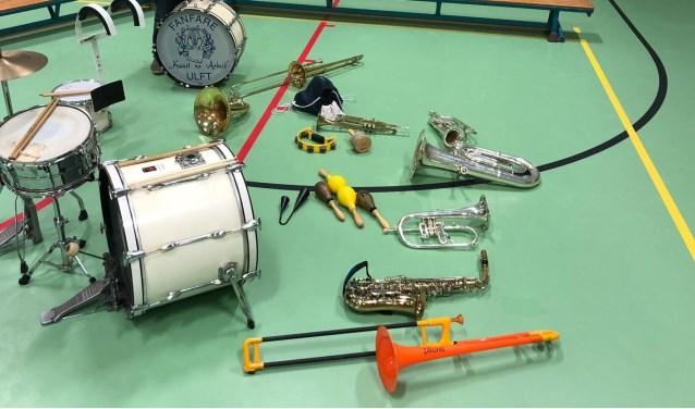 Instrumentenkeuze voor Muzikidz. Foto: Fanfare Kunst Na Arbeid