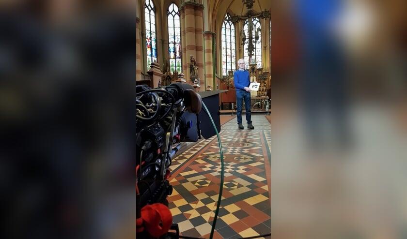De heer J. Nix voor de cameralens. Foto: Alice Rouwhorst