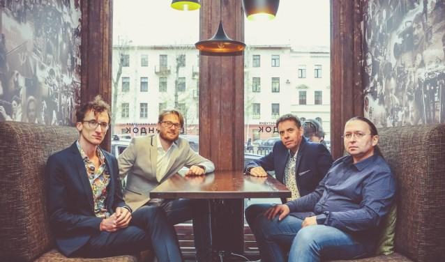 Het StarkLinnemann Quartet. Foto: Jacquelien Wielaard