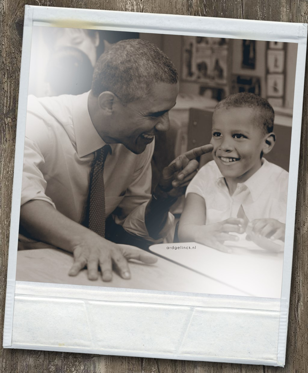 Barack Obama.   © Achterhoek Nieuws b.v.