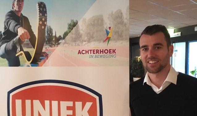 Alexander Tempels, coördinator van het platform Uniek Sporten Achterhoek. Foto: PR