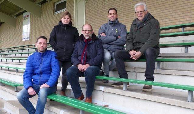 Het Beoogde bestuur van SV Dinxperlo. Foto: Wim Nieuwboer