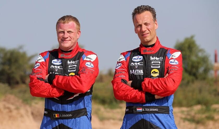 Bernhard ten Brinke (rechts) en Tom Colsoul. Foto: WillyWeyens.com