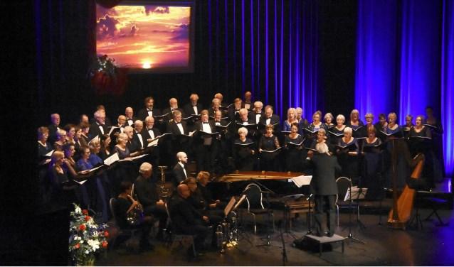 Gemengd Achterhoeks koor. Foto: Marinus ter Horst