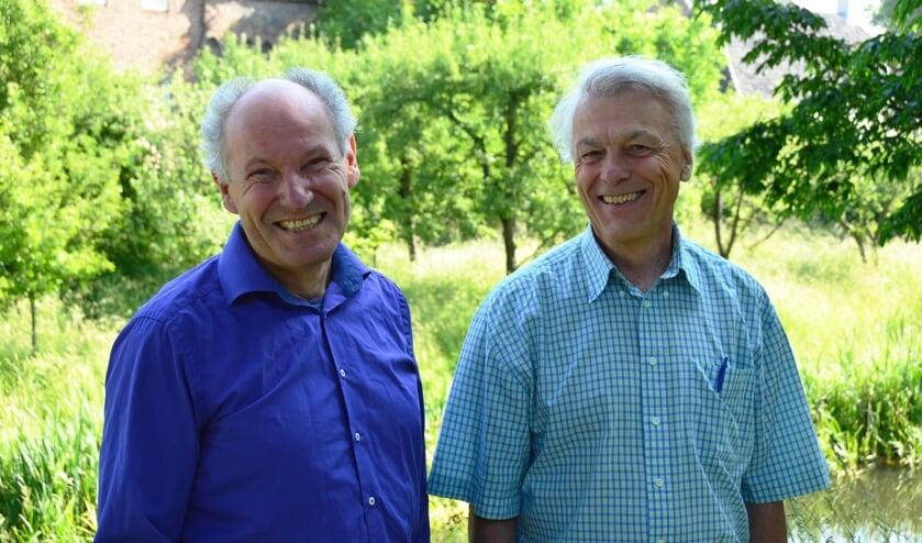 André Janssen (l) en Dolf Logemann. Foto: Alize Hillebrink