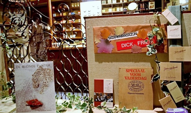 Ook het verdwenen sigarenmagazijn van Dick Fries krijgt aandacht. Foto: PR