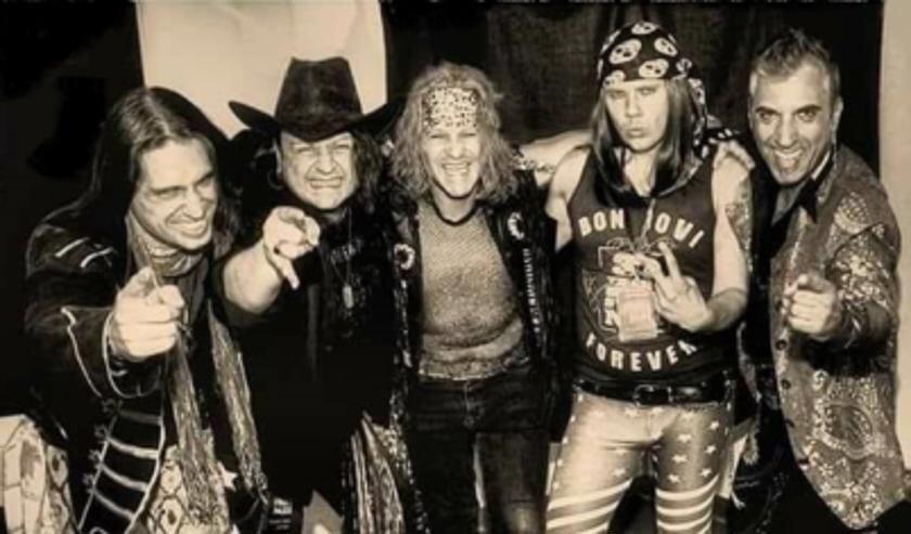 De Italiaanse Bon Jovi tributeband Bad Medicine op Sjoksfestival. Foto: PR