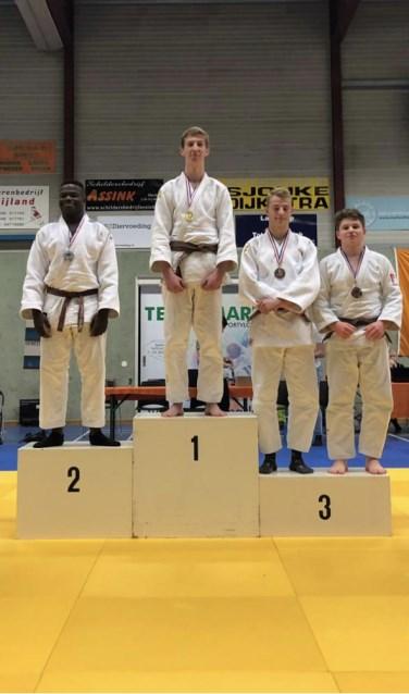Judoka Luuk van Nieuwland wint goud en gaat door naar het Nederlands Kampioenschap. Foto: PR