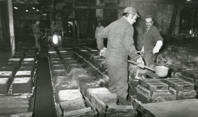 Keppelsche IJzergieterij te Laag-Keppel, 1981. Foto: Erfgoedcentrum Achterhoek en Liemers