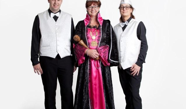 Crista Wenting is de eerste Prinses carnaval in het 45-jarig bestaan van De vrolijke Slörpers. Foto: Rosalien van Dulmen
