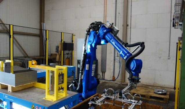 De robot. Foto: Clemens Bielen