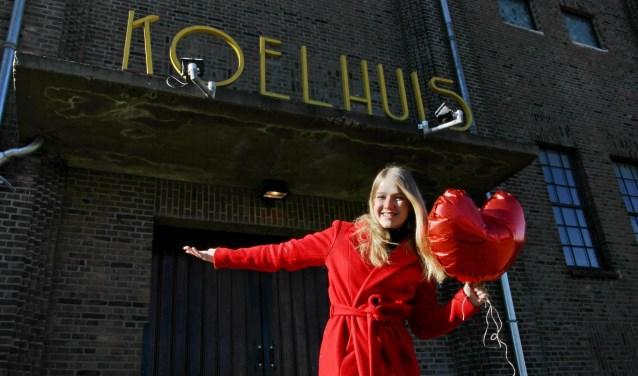 Marise den Bakker viert haar EP release feestje in Het Koelhuis in Zutphen. Foto: Liesbeth Spaansen