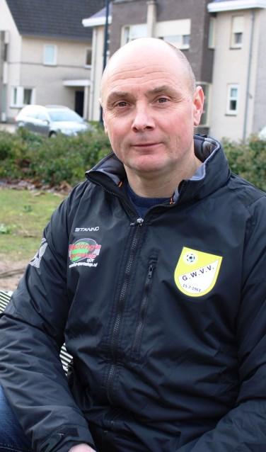 Edwin Grotenhuis is ook volgend seizoen trainer van GWVV. Foto: John van der Kamp
