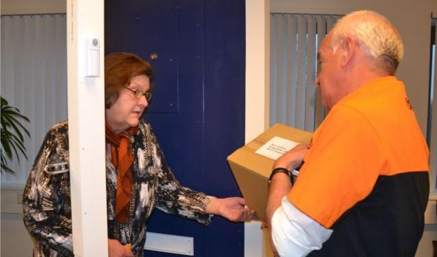 'Voor wie doet u de deur open?' in beeld gebracht tijdens voorlichtingsmiddagen over veiligheid voor senioren. Foto: PR