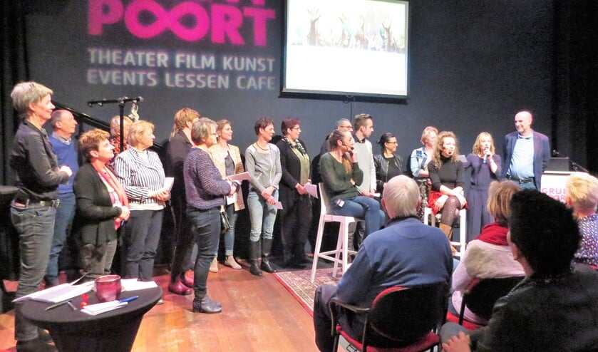 De afsluiting van het tweede Onderwijsgesprek in de Gruitpoort. Foto: Josée Gruwel