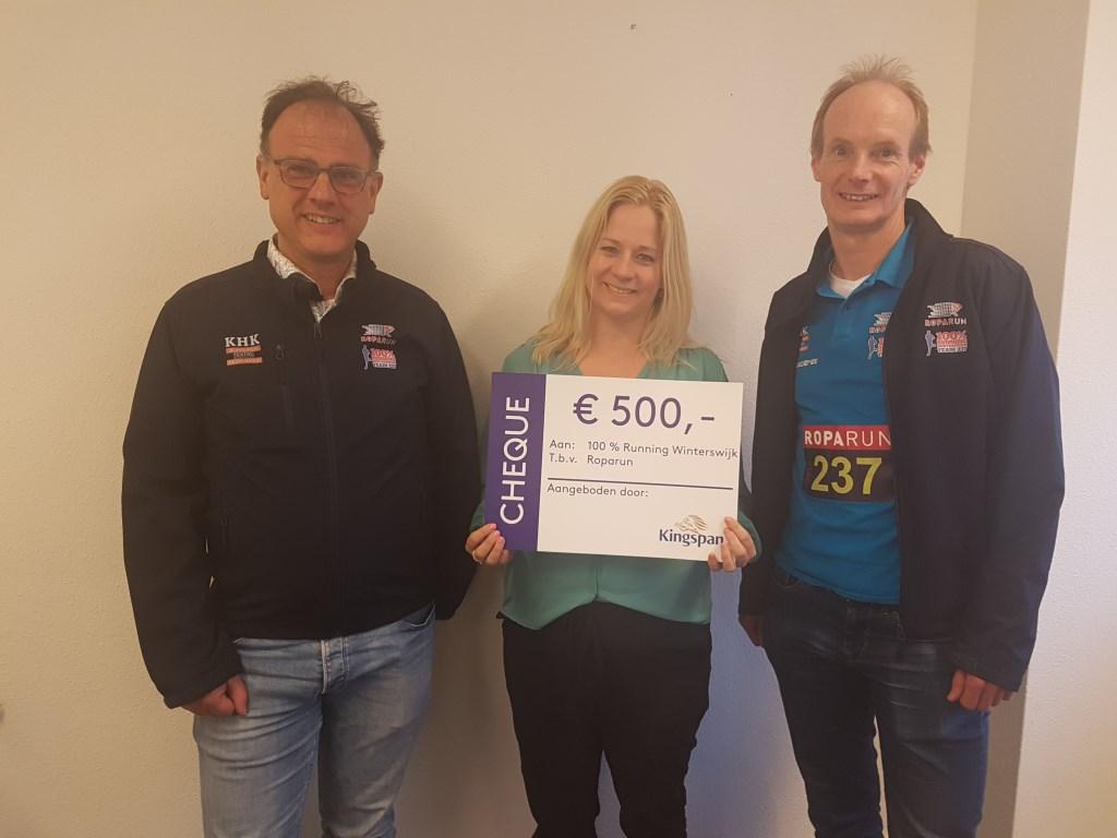 Van links naar rechts: Ruud Storck, Chantal Heuvelman, Theo Schreurs. Foto: PR Kingspan Insulation