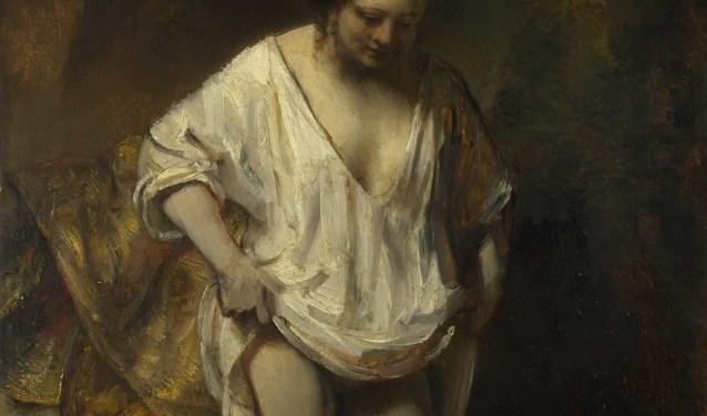 Rembrandt - Een vrouw badend in een stroom (Hendrickje Stoffels). Foto: PR